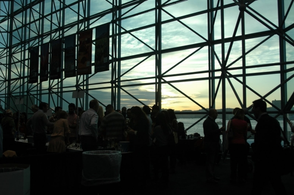 Sunset Javits Center NYC Wine Expo 2012